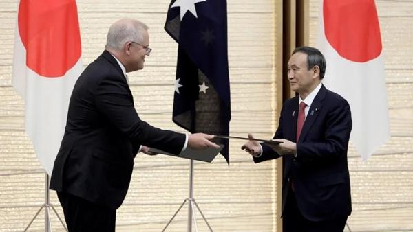 日本拉着澳大利亚冲击雅尔塔体系,中国不可能坐视不管