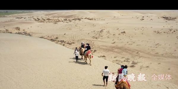 热情又神秘,来莎车喀尔苏沙漠骑骆驼吧!