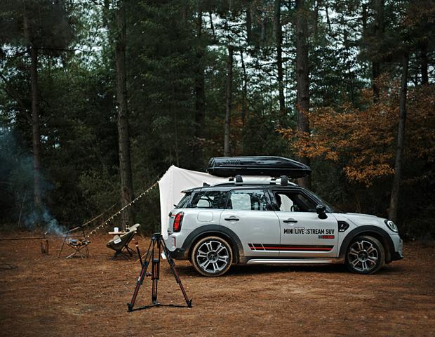 MINI推出全球首台户外高清直播SUV