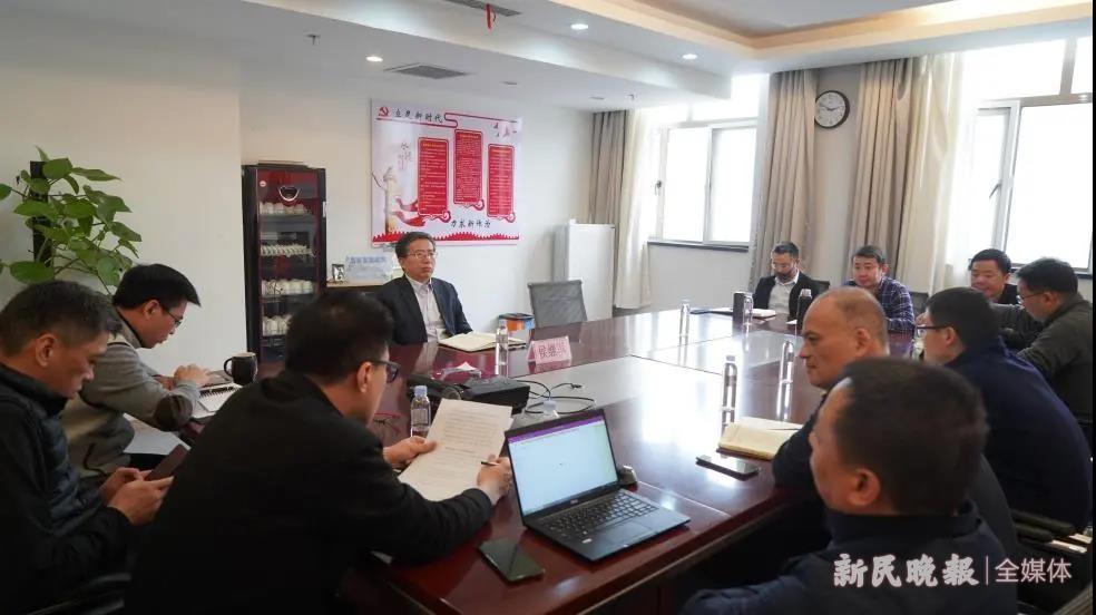上海援疆前方指挥部召开组织生活会