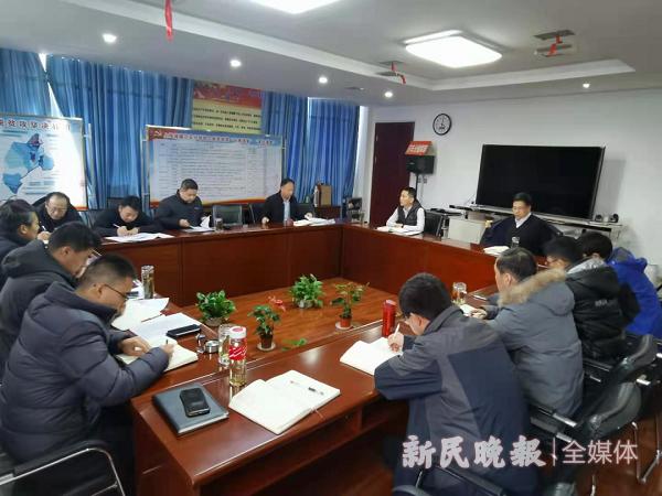 上海援疆莎车分指挥部召开第十批党政干部第十三次工作例会