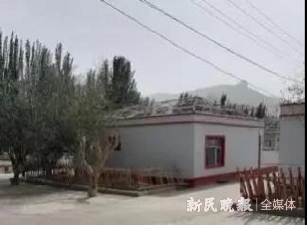 上海援疆莎车分指挥部积极推动莎车县山区乡镇房顶改造项目开展
