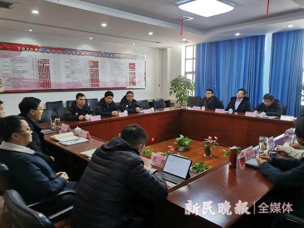 上海援疆前方指挥部调研团队赴莎车县调研