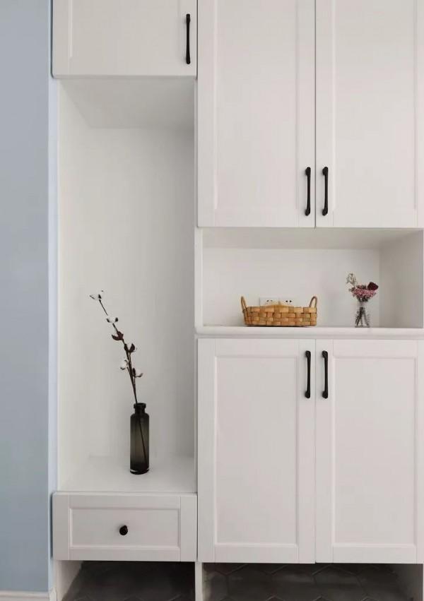 140平的小清新北欧风四居室,超浪漫的马卡龙色