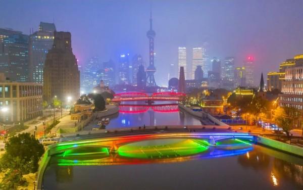 春暖花开!漫步上海苏州河上这16座桥,有多美?走过的人才知道!