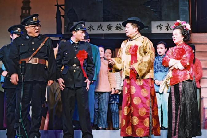 上海的旁友们,你多久没看过滑稽戏了?《72家房客》回来啦!