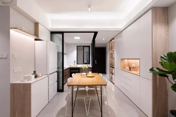 79平的现代风小户型二居室,紧凑老房变成宽敞小窝