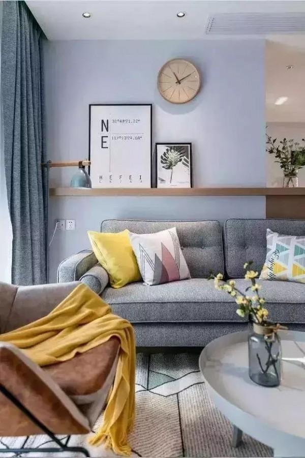 100平左右的可以这样设计,三室一厅,还有衣帽间和厨房