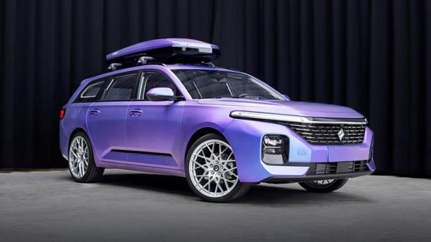 第二款新宝骏休旅车定制版-极光紫重磅亮相