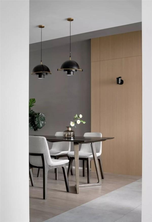 142平的简约北欧风三居室,朦胧的灰色带来轻松质感