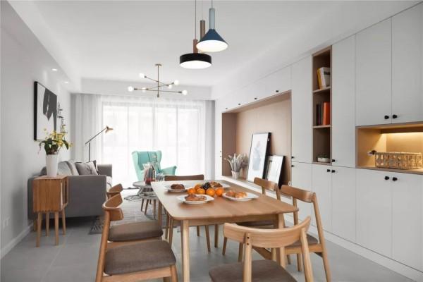 149平的简约北欧风四居室,简单的生活也能够非常惬意