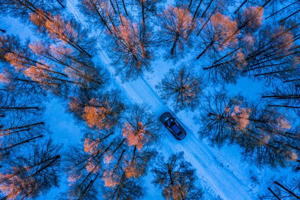 纯电动BMW iX原型车在牙克石冬测 将于年内发布