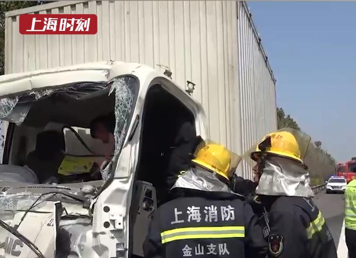 视频 | 高速路上看事故,不料自己成了事故!
