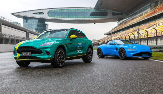 2分29秒!阿斯顿·马丁DBX刷新上海国际赛车场量产SUV圈速纪录