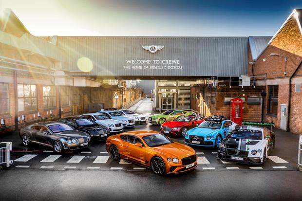 宾利已累积打造二十万台超豪华座驾