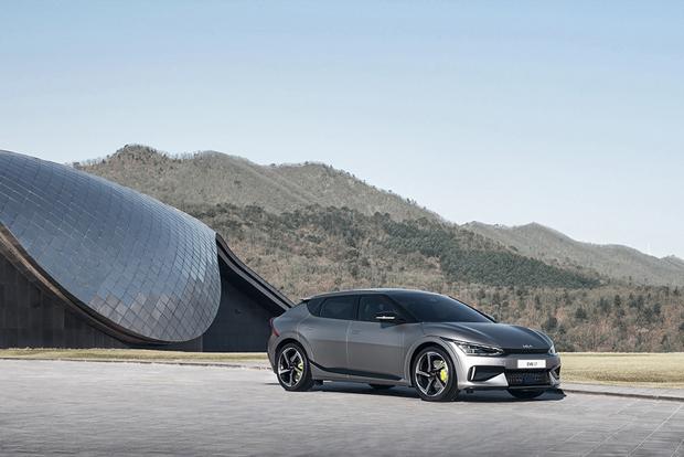 起亚纯电动车型EV6全球首秀