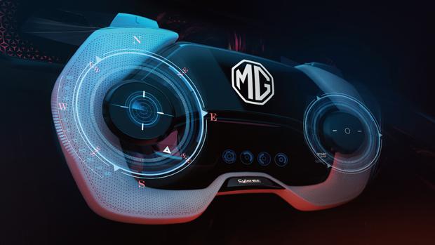全球首款纯电超跑电竞座舱MG Cyberster内饰曝光