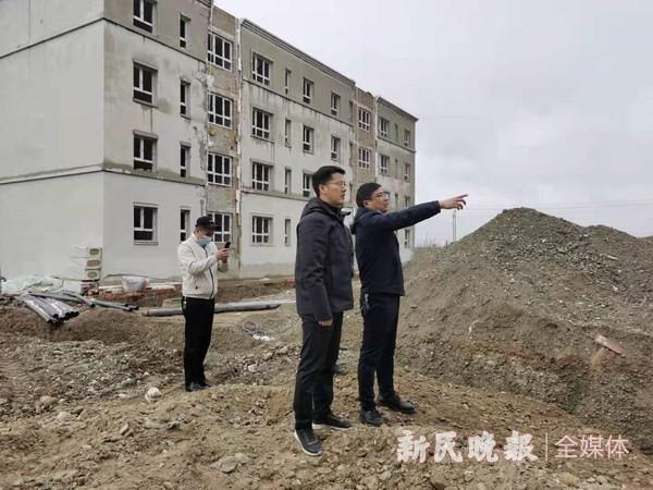 上海援疆叶城分指调研2021年援疆项目建设前期工作情况