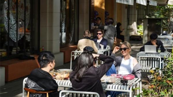 在上海最有氛围的咖啡街,咖啡已成为一种生活方式