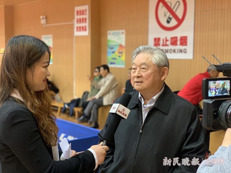 国际乒联终身名誉主席徐寅生:希望新民晚报红双喜杯常办常新