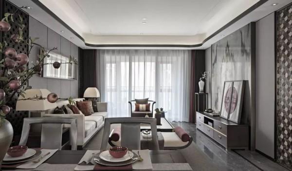 143平的新中式风大宅,典雅大气的家,怎么看都很有档次