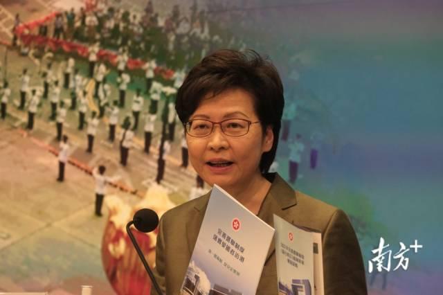 定了!香港明年3月选特首,今年底选立法会议员
