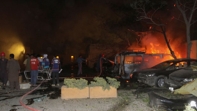 巴基斯坦酒店爆炸已致5死,中国使馆人员安全
