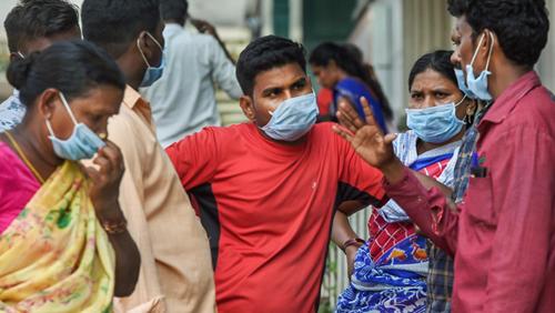 印度新增确诊超31万例,刷新全球单日新增纪录