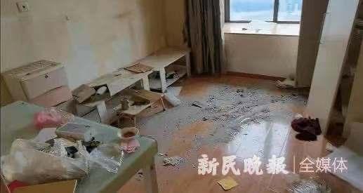 屋内惨不忍睹!90后租客不辞而别,上海房东后悔没收押金!