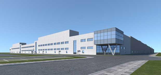 大众安徽全新纯电动汽车工厂正式开工建设