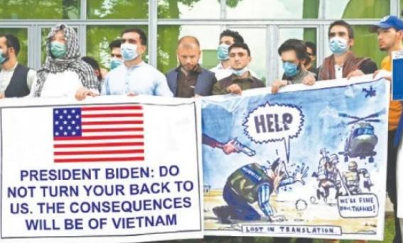 """留在本国怕被杀,想去美国签证难,阿富汗战地翻译:美军""""弃子""""日子惨"""