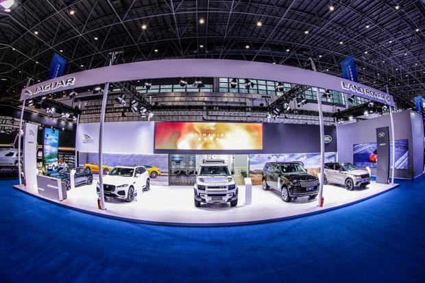 捷豹路虎重磅亮相首届中国国际消费品博览会