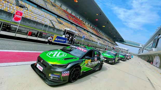 MG6 XPOWER TCR携手双车队征战2021 TCR China