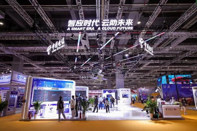 中国电信亮相首届长三角国际应急减灾和救援博览会
