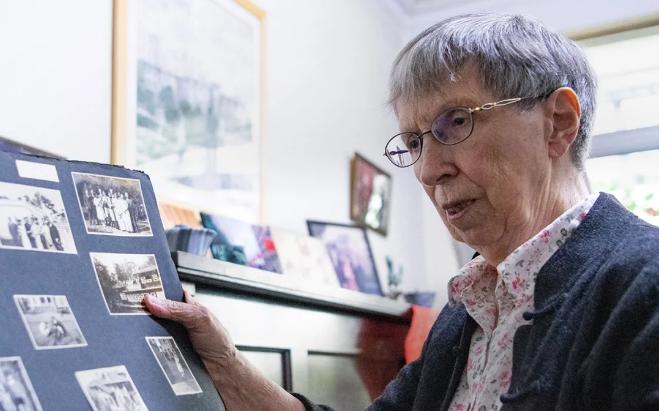 88岁英国教师白丽诗:16岁那年,我见证了上海解放的历史时刻