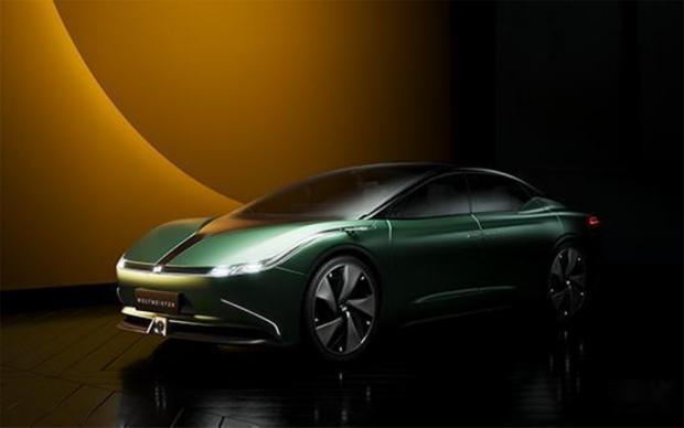 """威马首款纯电概念轿车登榜""""上海设计100+"""" 量产车型年内发布"""