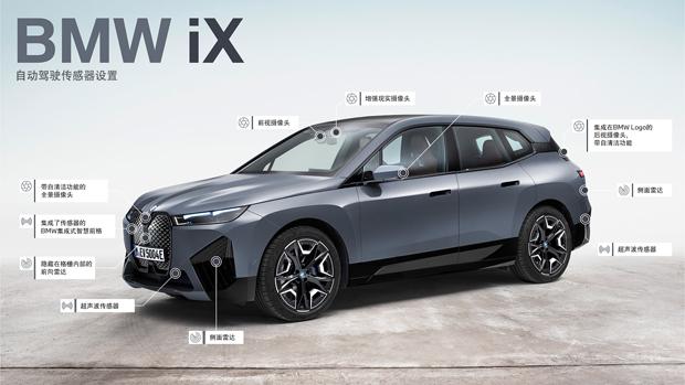 创新BMW iX 开启面向未来的豪华出行体验