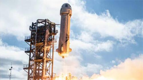 地球首富贝索斯宣布:下个月将带着弟弟乘着火箭去太空旅游