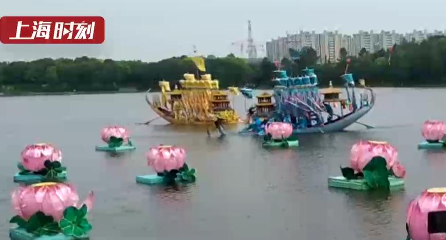视频   美兰湖上展传统技艺 罗店龙船节等客来