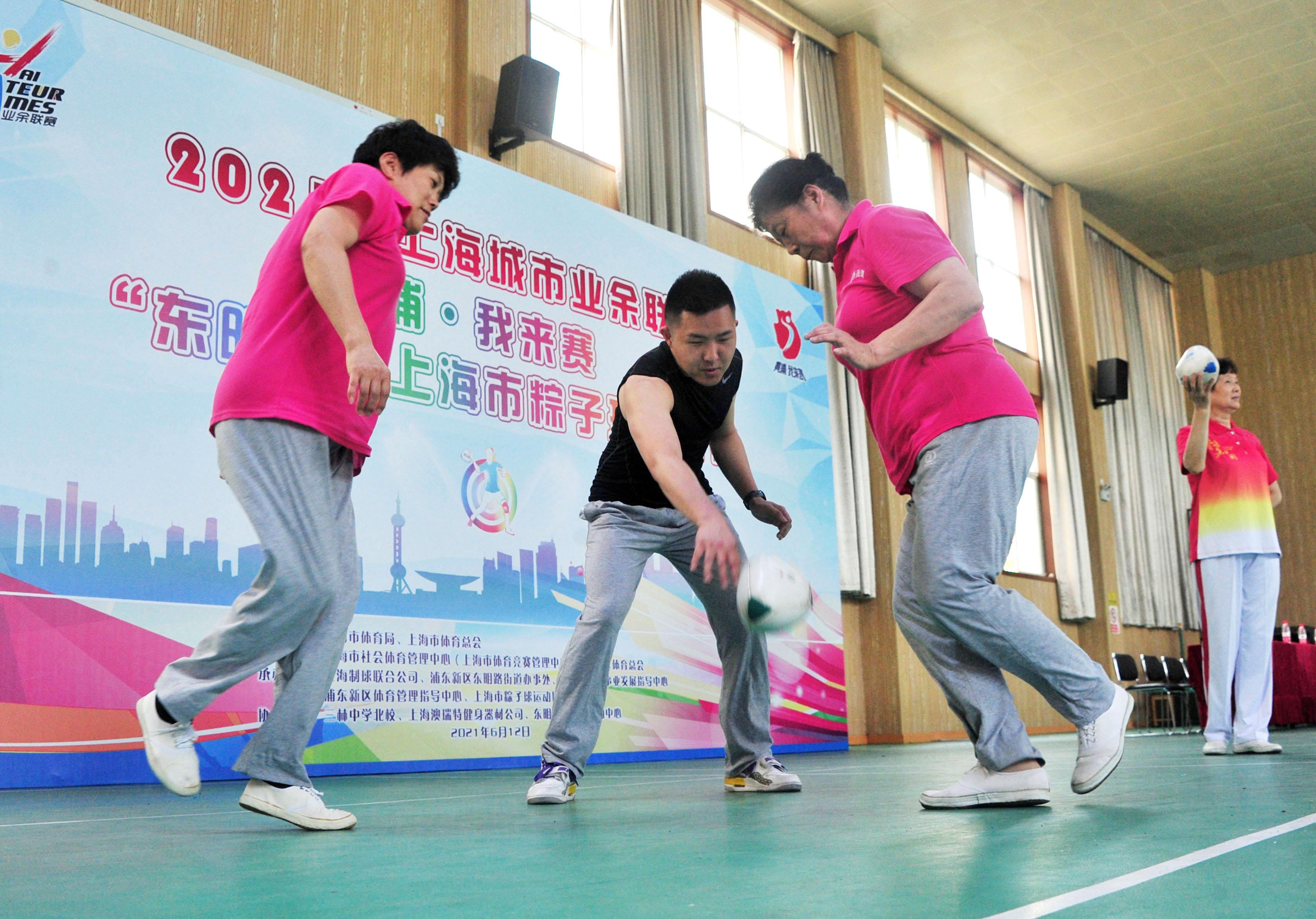 2021乐动体育市粽子球公开赛举行 拍球高手云集一决高下