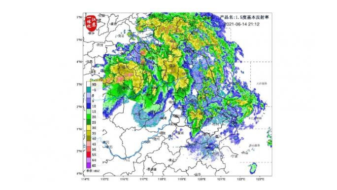 暴雨、大风、强对流齐上阵!江苏多地橙色、黄色预警!