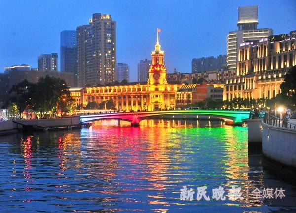 苏州河上22座桥梁将完成景观提升