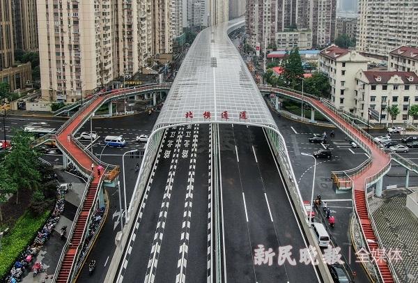 视频 | 北横通道西段通车首日实测:车速60公里全程10分钟