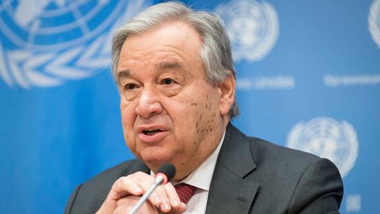现任联合国秘书长古特雷斯成功连任