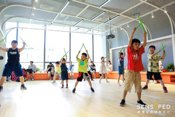 橙捷与上体运动科学学院共建实习基地助力中国少儿健康