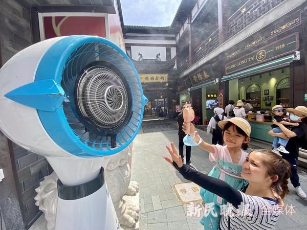 申城今天高温继续