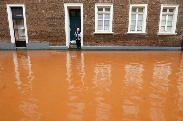 千年一遇的洪灾或将改变德国大选走向?