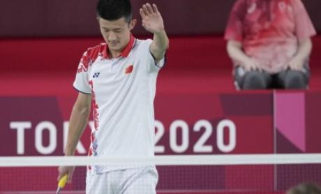 卫冕失败 谌龙不敌安赛龙 收获东京奥运会羽毛球男单亚军