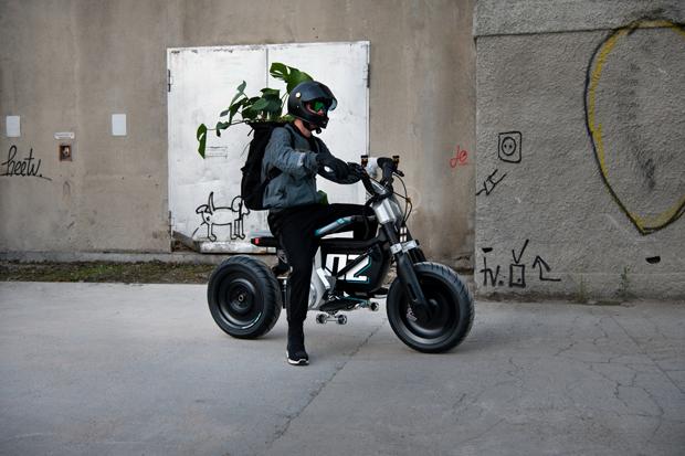 BMW Motorrad CE 02概念车全球首发