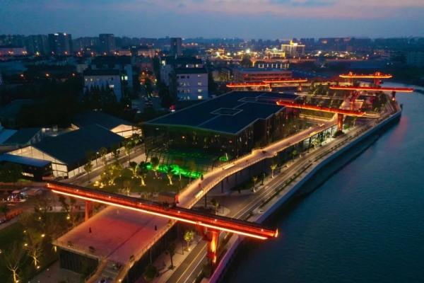 上海首个星空高线公园开放!夜景美呆了!解锁最浪漫表白地~